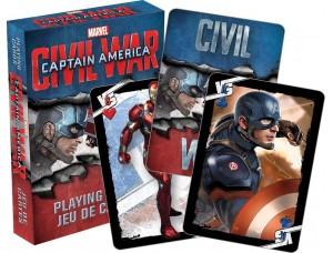 Игральные карты - Капитан Америка: Гражданская война