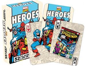 Игровые карты - Marvel Heroes Retro