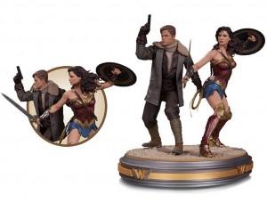 Фигурка-статуя Чудо-женщина и Стив Тревор