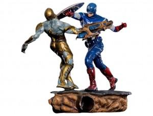 Фигурка-диорама Капитан Америка против Читаури