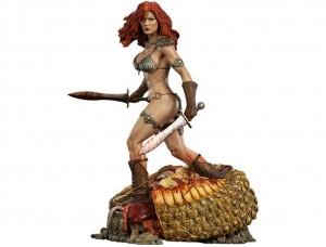 Фигурка-статуя Красная Соня