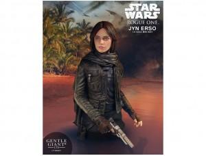 Бюст Джин Эрсо - Изгой-один: Звёздные Войны. Истории