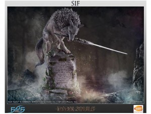 Фигурка-статуя Sif The Great Grey Wolf