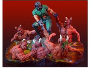 Фигурка-статуя Doom