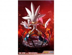 Фигурка-статуя Silver The Hedgehog