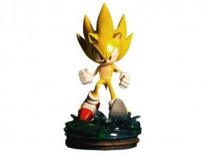 Фигурка-статуя Super Sonic