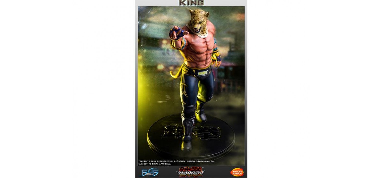 Коллекционная фигурка-статуя Dark Resurrection King - Tekken 5