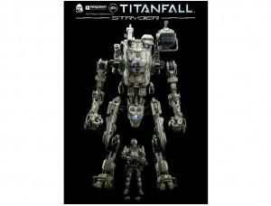 Фигурка Титан Страйдер и пилот - Titanfall