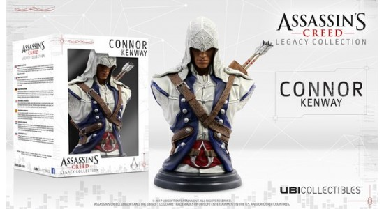 Коллекционный бюст Assassin's Creed III: Connor Kenway Legacy Collection