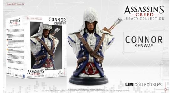 Коллекционный бюст Assassin's Creed III: Connor Kenway Legacy Collection