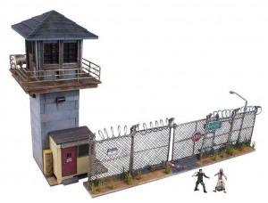 Диорама Тюрьма - Ходячие мертвецы
