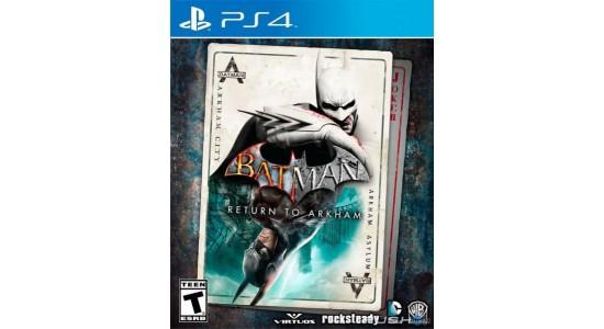 Игра для Playstation 4 Batman: Return to Arkham Remastered Collection