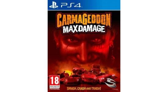 Игра для Playstation 4 Carmageddon Max Damage