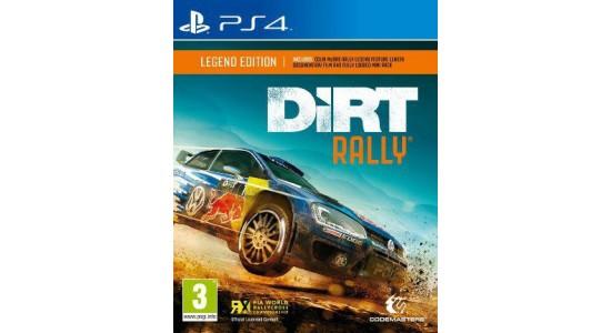 Игра для Playstation 4 Dirt Rally Legend Edition