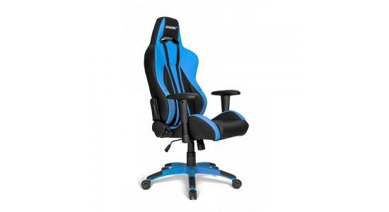 Игровое кресло AKRacing Premium Plus Black Blue