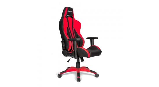 Игровое кресло AKRacing Premium Plus Black Red