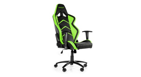 Игровое кресло Akracing Player Gaming Chair Black Green