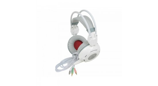 Игровые наушники A4Tech Bloody G300 White