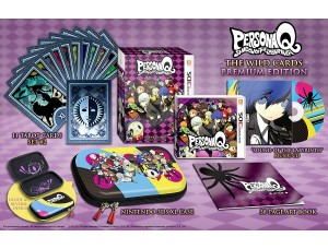 Persona Q: Shadow of the Labyrinth - The Wild Cards Premium Edition
