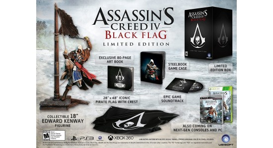 Коллекционное издание Assassin's Creed IV Black Flag Limited Edition