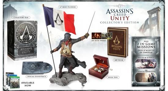 Коллекционное издание Assassin's Creed Unity Collector's Edition