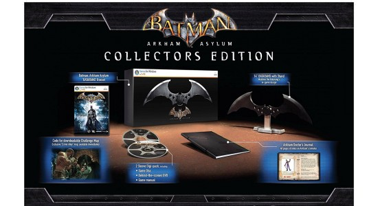 Коллекционное издание Batman: Arkham Asylum Collectors Edition