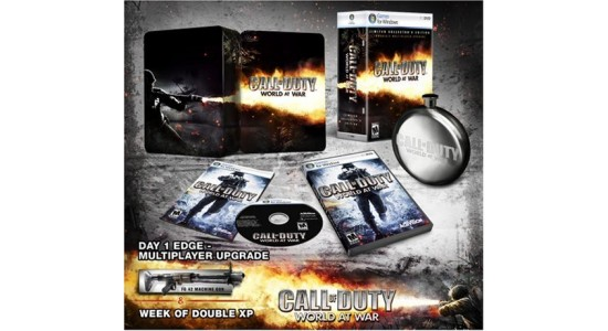 Коллекционное издание Call of Duty World at War Collector's Edition