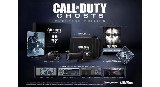Коллекционное издание Call of Duty: Ghosts Prestige Edition