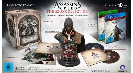 Коллекционное издание Assassin's Creed: The Ezio Collection Collector's Case