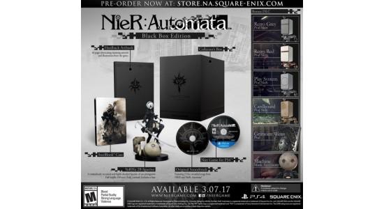 Коллекционное издание Nier: Automata Black Box Edition