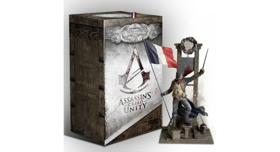 Коллекционное издание Assassin's Creed: Unity Guillotine Edition