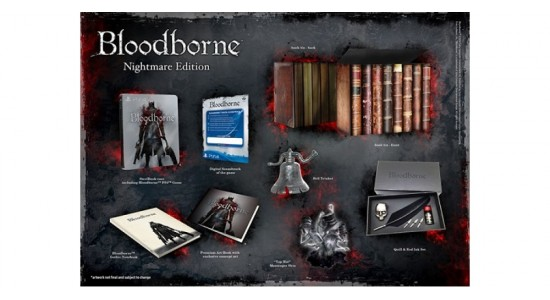 Коллекционное издание Bloodborne: Nightmare Edition
