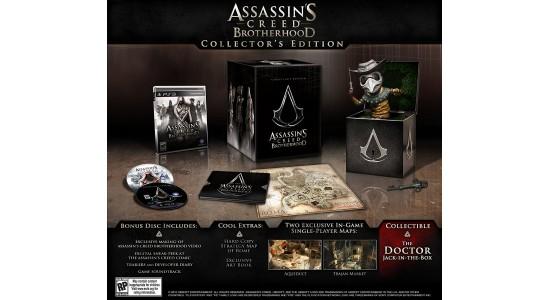 Коллекционное издание Assassin's Creed: Brotherhood Collector's Edition