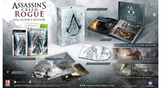 Коллекционное издание Assassin's Creed Rogue Collector's Edition
