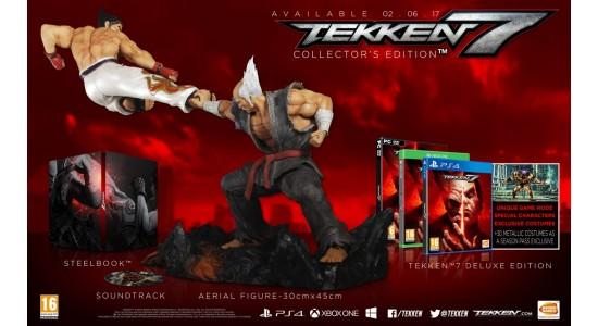 Коллекционное издание Tekken 7 Collectors Edition
