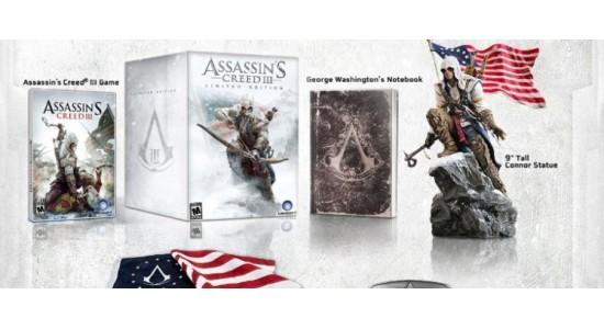 Коллекционное издание Assassin's Creed III Limited Edition