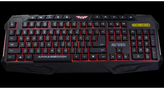 Игровая клавиатура Armaggeddon AK-550i Kalashnikov