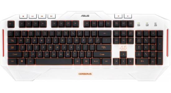 Игровая клавиатура Asus Cerberus Arctic Keyboard