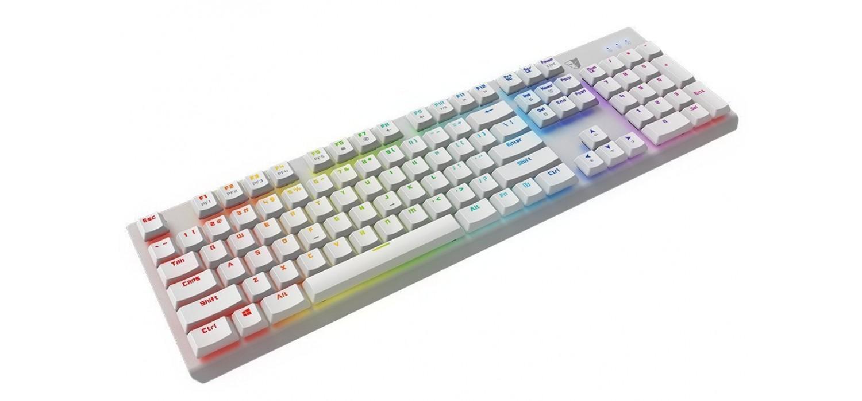 Клавиатура игровая SVEN Challenge 9700 чёрная 104+9 клавиш 8 дополнительных сменных клавиш