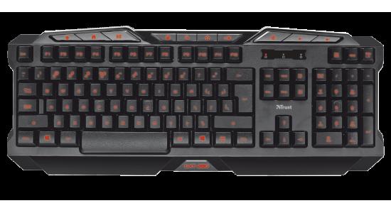 Игровая клавиатура Trust GXT 280