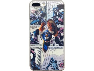 Чехол Капитан Америка - Comic Strip Superhero