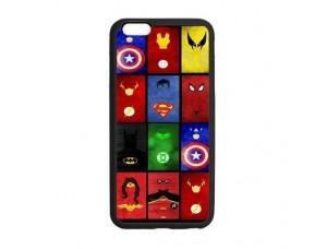Чехол Супергеройские символы