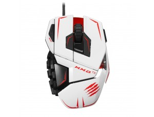 Mad Catz M.M.O. TE Gaming Mouse White