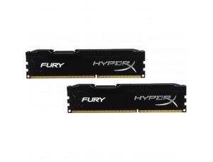 Kingston HyperX Fury Black DDR3-1600 16 Gb