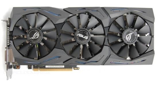 Видеокарта Asus ROG Strix GeForce GTX 1080