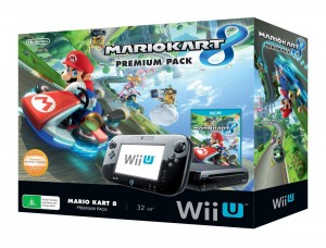 Nintendo WII U Mario Kart Premium Pack 32gb (модифицированная) + 5 игр