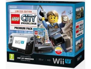 Nintendo Wii U 32GB Premium Pack + Lego City Undercover