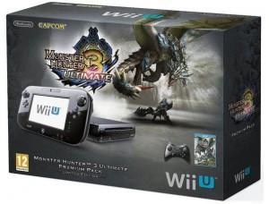 Nintendo Wii U 32GB Premium Pack + Monster Hunter 3