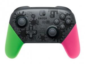 Nintendo Switch Pro Controller Splatoon 2 Edition
