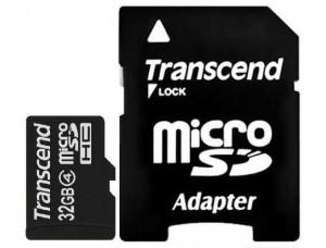 Карта памяти MicroSD 32Gb + Adaptor для PSP